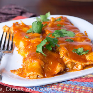Pork Enchiladas.