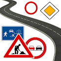 Driving school for kids, signs