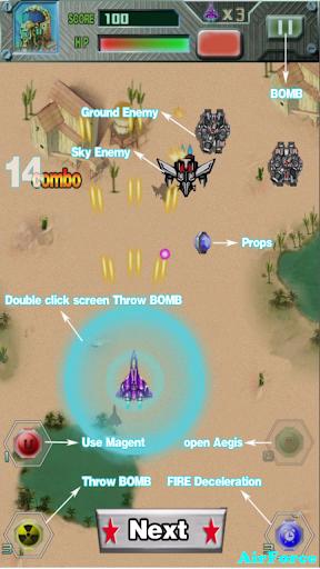 Ace Air Force: Super Hero 1.3 app download 6