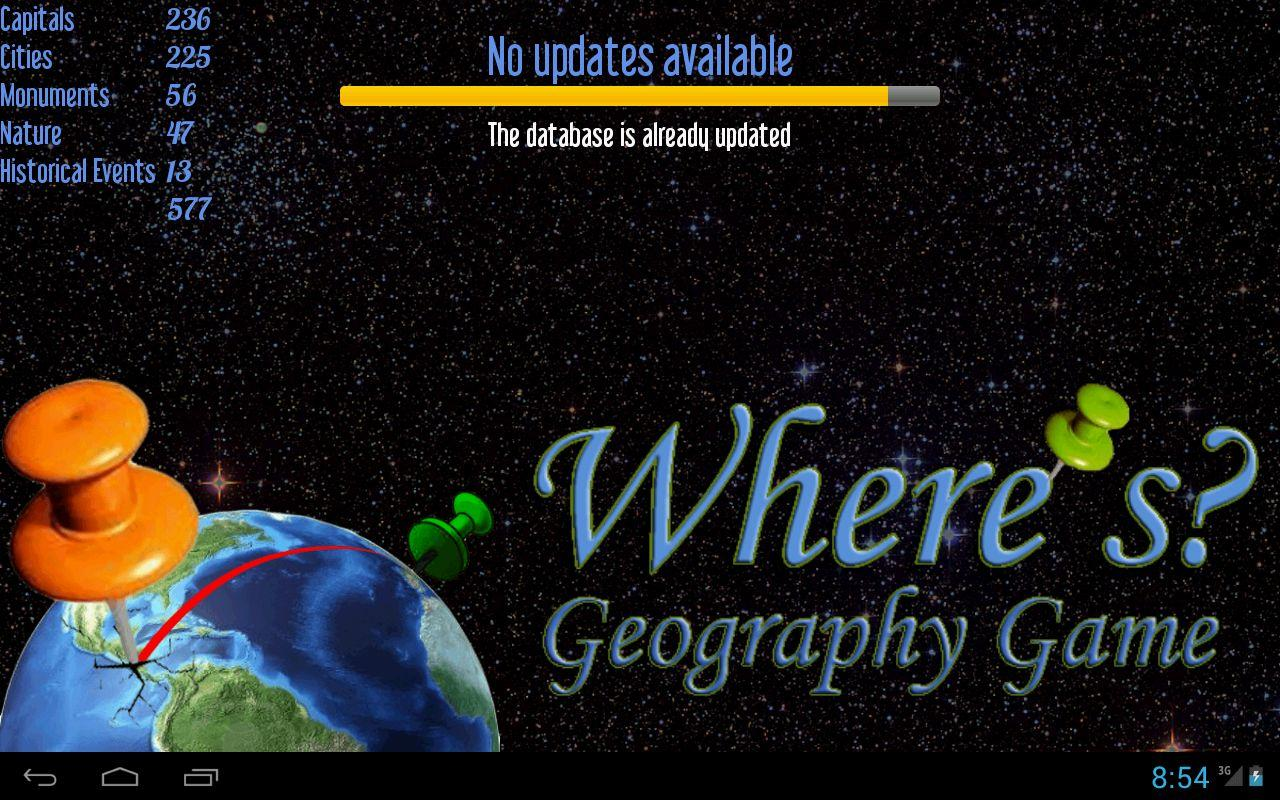 Where's? Geography Game FREE- screenshot
