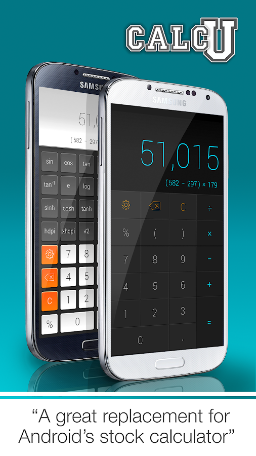 CALCU™ Stylish Calculator Free - screenshot