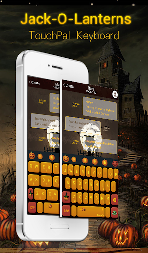 Jack-O-Lanterns Keyboard Theme
