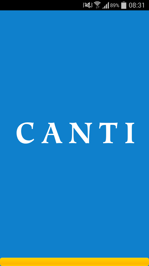 Canti- screenshot