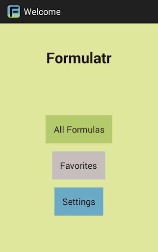 Formulatr
