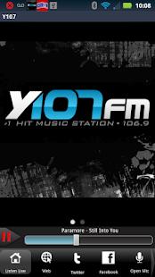 Y107 - 106.9FM - screenshot thumbnail