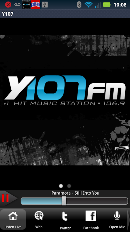 Y107 - 106.9FM - screenshot