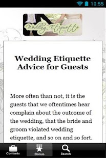 Wedding Etiquette Secrets-FREE - screenshot thumbnail