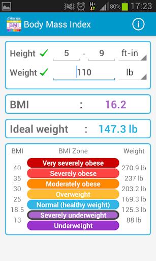 Body Mass Index Calculator BMI