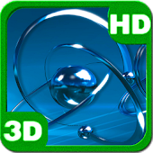 Atomic Chromium Particles 3D