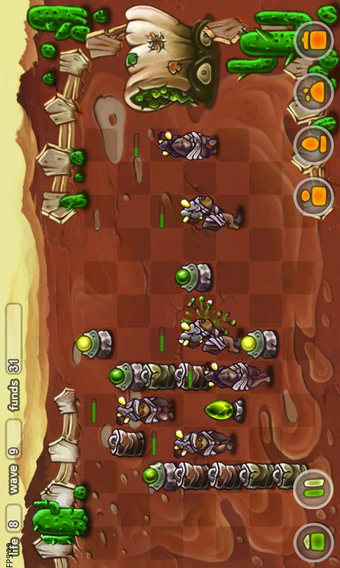Creepy Creeps Tower Defense - screenshot