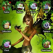Fairy GO Launcher EX Theme