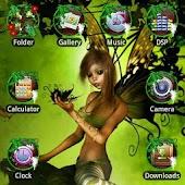 Fairy GO Launcher EX Theme