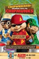 Screenshot of Chipwrecked: Chipmunk Coloring
