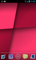 Screenshot of Quadrants Live Wallpaper