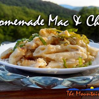 Homemade Adult Mac & Cheese
