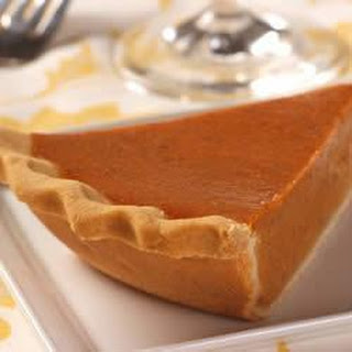 Gluten-Free Pie Crust with LIBBY'S® Famous Pumpkin Pie Filling.