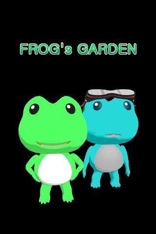FROG's GARDEN- screenshot