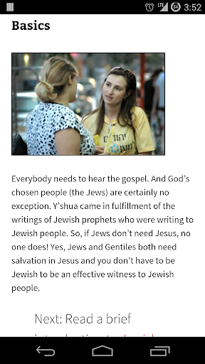 Witnessing to Jewish People