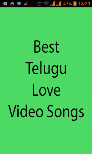 Best Telugu Love Video Songs