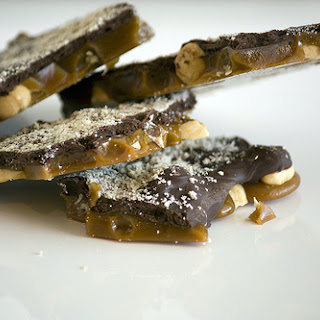 Dark Chocolate Hazelnut Toffee