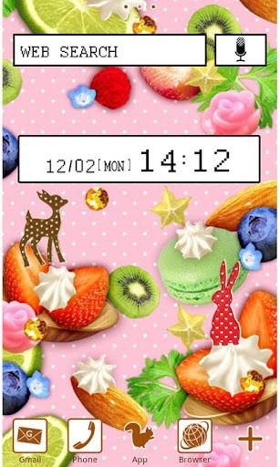 Cute Wallpaper Fruit Sundae 1.1 Windows u7528 1