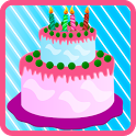 birthday cake games icon