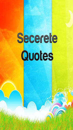 Secret Quotes-Beautiful Saying