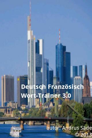 Deutsch Französisch Trainer