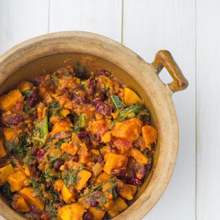 Sweet Potato & Kale Chilli.