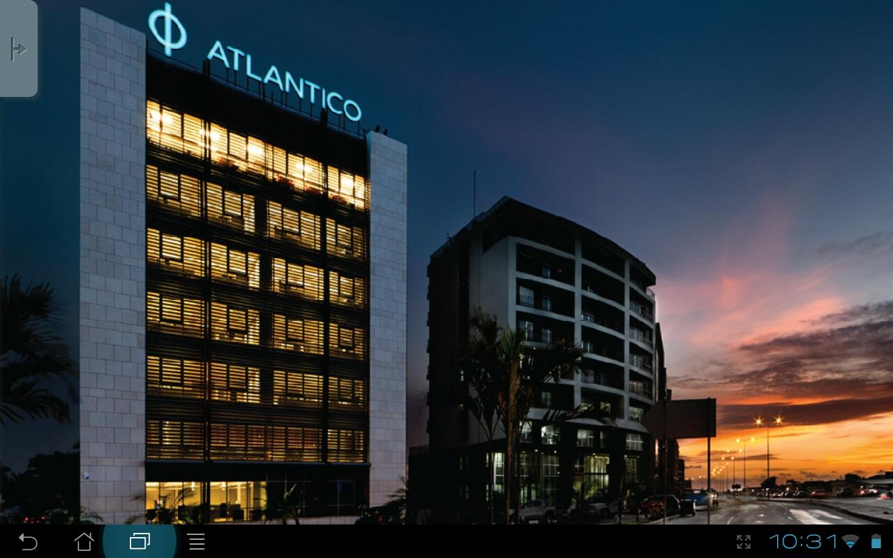 ATLANTICO Tablet Banking - screenshot