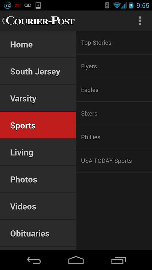 Courier-Post - screenshot