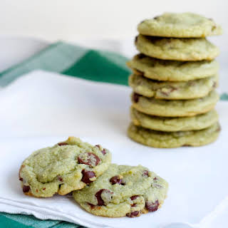 Chewy Chocolate Mint Chip Cookies.