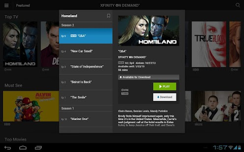 XFINITY TV Go Screenshot 5