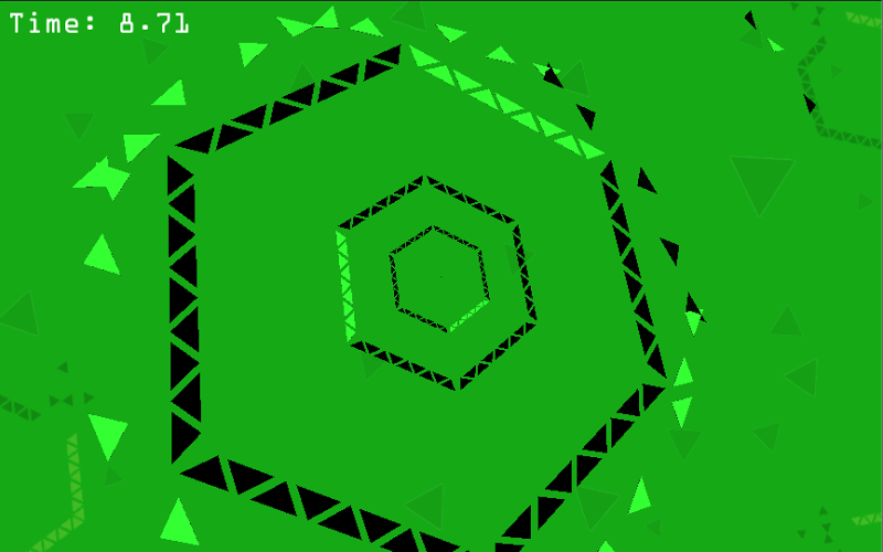 hexagon a free arcade game games at miniclipcom - 640×400