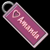 Amanda Name Tag