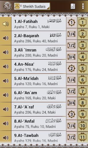 Quran Melayu Sudais Audio FREE