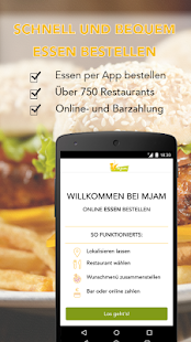 Mjam.at - Essen Lieferservice - screenshot thumbnail