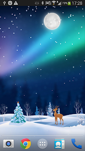 Xmas Live Wallpaper PRO - screenshot thumbnail