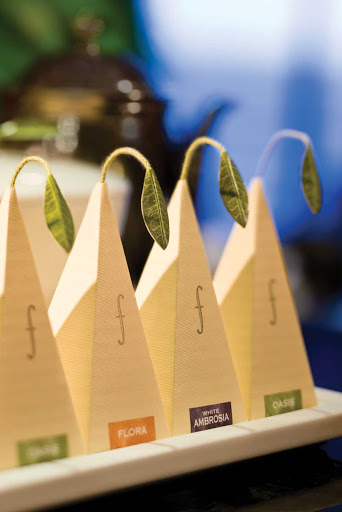 Regent-Seven-Seas-Teabags - You'll enjoy the range of boutique loose leaf teas during your travels aboard Seven Seas Voyager.
