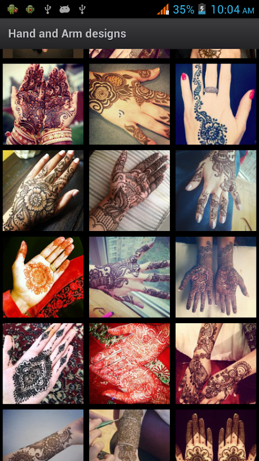 Best Mehndi Designs 2013 HD - screenshot