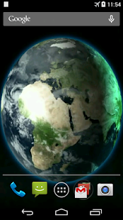 Amazing Earth Live Wallpaper - screenshot thumbnail