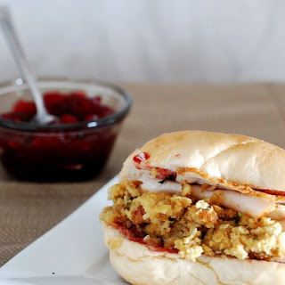 Cranberry and Turkey Sandwiches #SundaySupper
