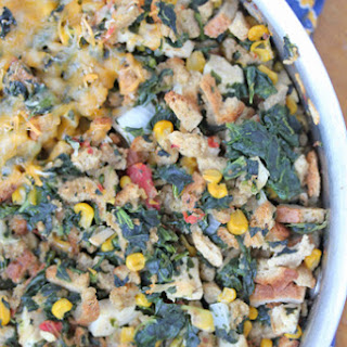 Chicken and Stuffing Skillet Dinner
