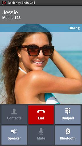 Back Key End Call  screenshots 1