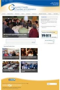 Gloucester County Chamber - screenshot thumbnail