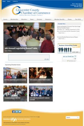 Gloucester County Chamber - screenshot
