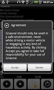 Gnaural for Android- screenshot thumbnail
