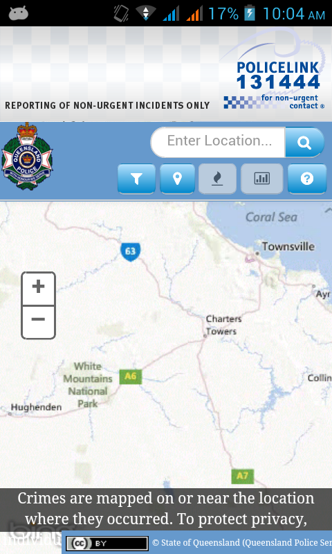 Policelink (Queensland) - screenshot