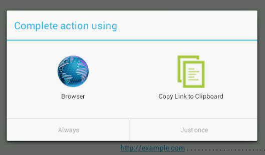 Copy Link to Clipboard- screenshot thumbnail