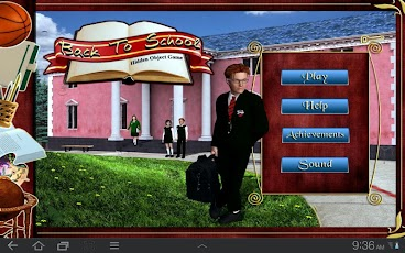 Back to School - Hidden Object Android Brain & Puzzle